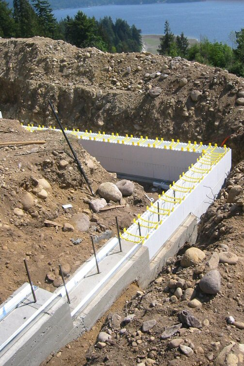 Better basements with insulation for Insulated concrete forms basement