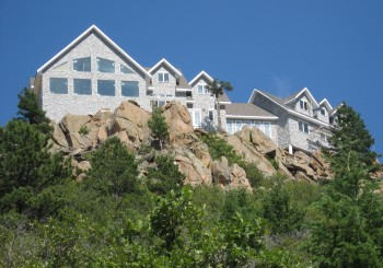 Rock Solid Home on a Hill